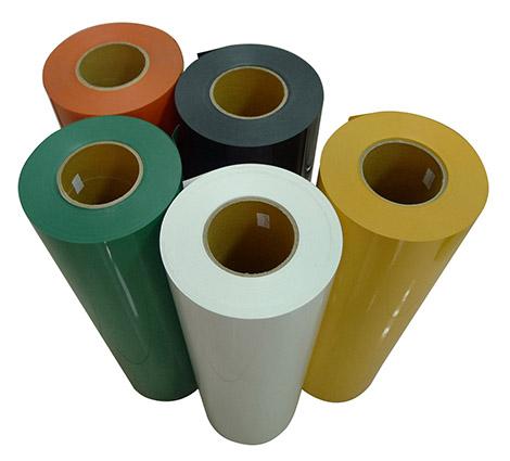 PVC刻字膜样品